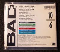 Bad Company - 10 From 6 - back cover