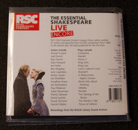 RSC - The Essential Shakespeare LIVE encore - back cover