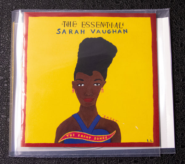 Sarah Vaughan - The Essential - front cover