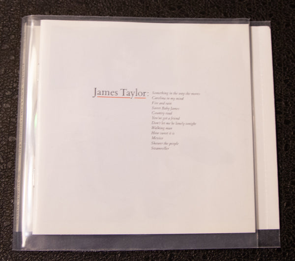 James Taylor - Greatest Hits - front cover
