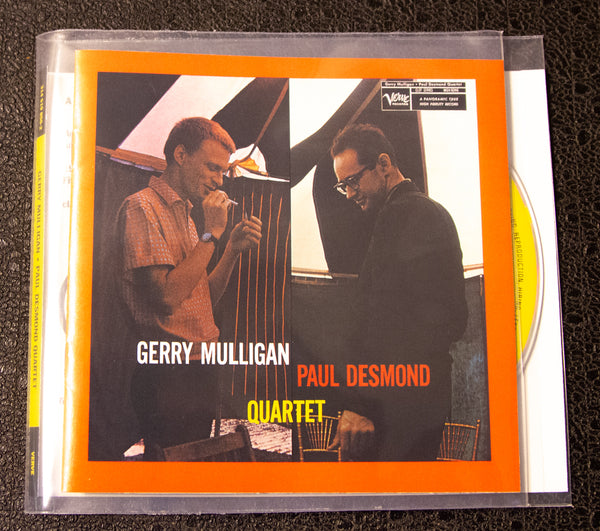 Gerry Mulligan & Paul Desmond: Quartet (1993 BMG Record Club) CD