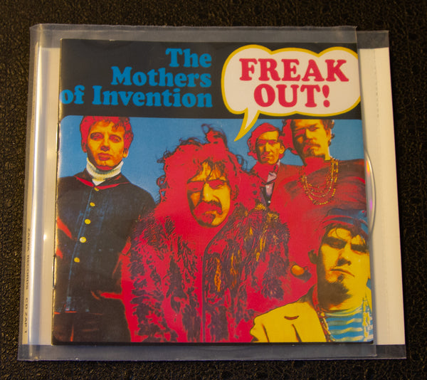 Frank Zappa/Mothers Of Invention -Freak Out - Cover