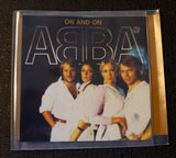 Abba - On And On - front cover