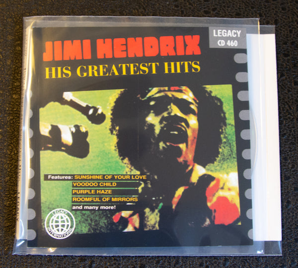 Jimi Hendrix - LIVE: His Greatest Hits - front