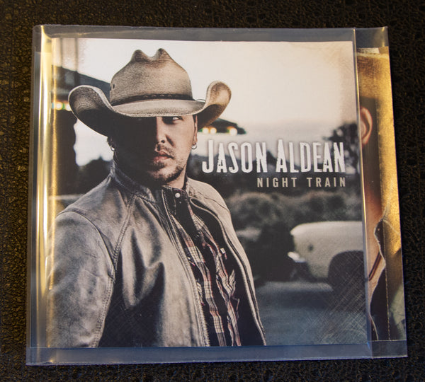 Jason Aldean - Night Train- front cover