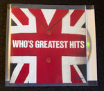 The Who - Greatest Hits - front cover