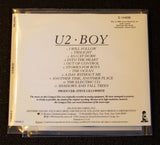 "U2 - ""Boy"" - back cover"
