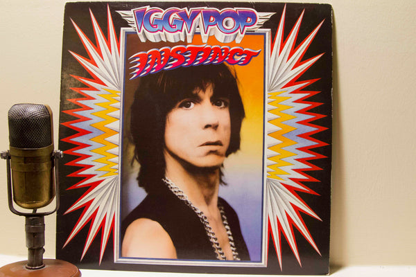 Iggy Pop INSTINCT | Vinyl Record Album | Drop The Needle