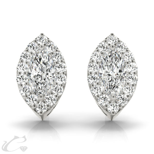 Halo Earrings #40605