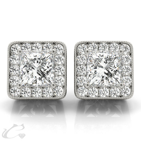 Halo Earrings #40937