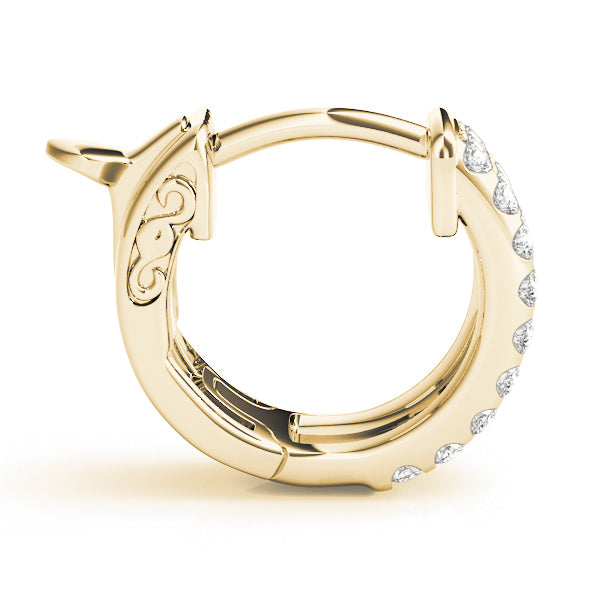 Ride or Die Hoop Earrings