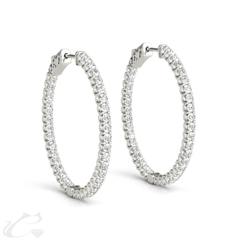 Carina Hoop Earrings