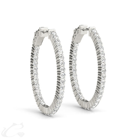 Zeus Hoop Earrings