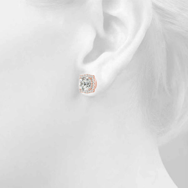 Mensa Halo Earrings