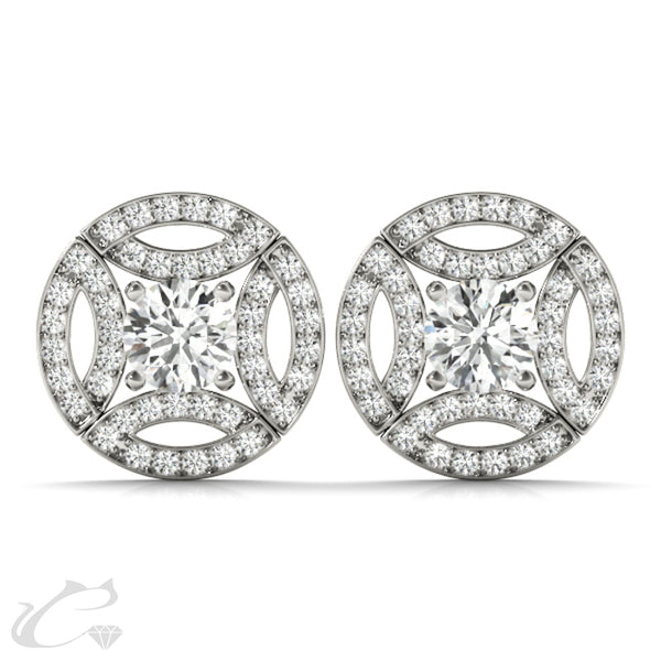 Carina Halo Earrings
