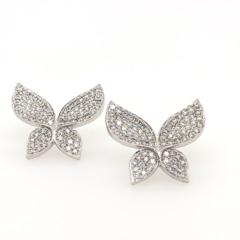 Butterfly Kisses Earrings & Ring Set