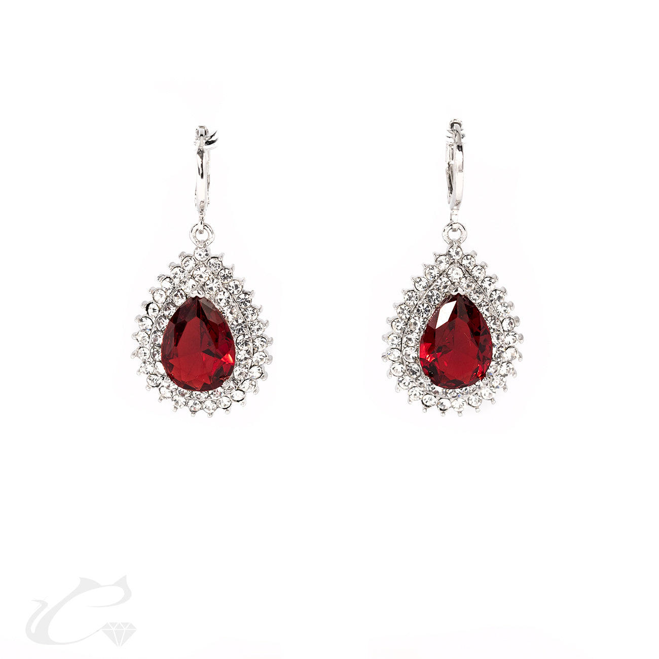 Drops of Royalty - Ruby and Diamond Set