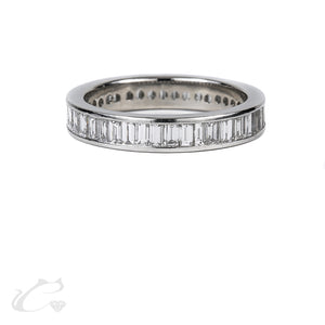 Baguette Cut Eternity Band