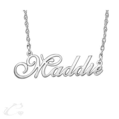 The Classic Nameplate Necklace