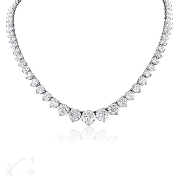 Diamond Riviera Necklace - Large