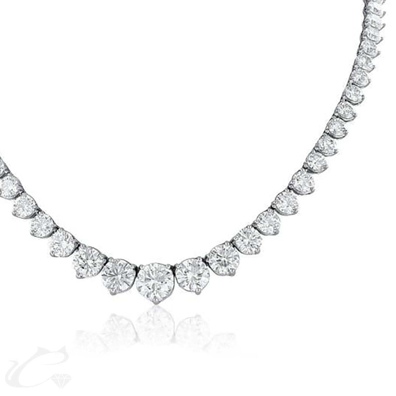 Diamond Riviera Necklace - Medium