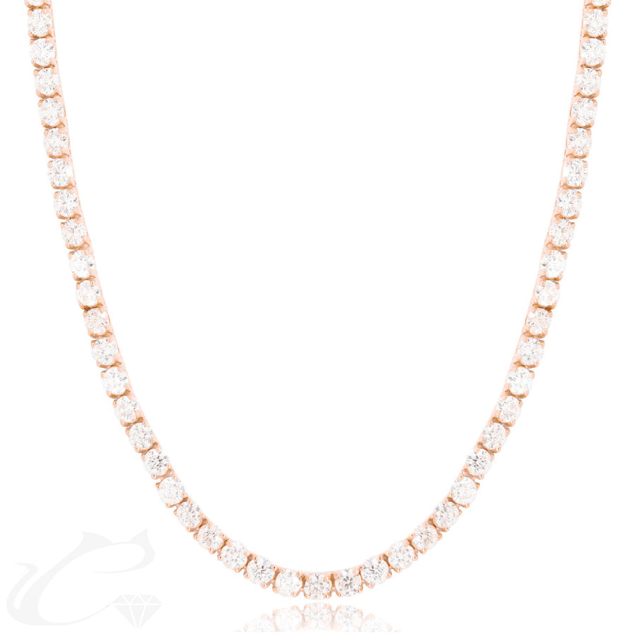 Day and Night Diamond Necklace