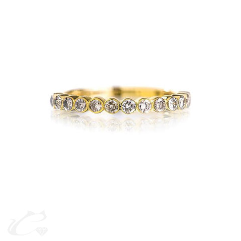 Bezel Diamond Band