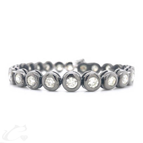 Diamond Tennis Bracelet for Men