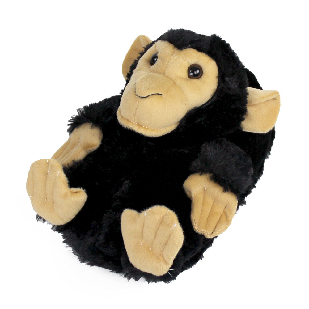 Black Monkey Animal Slippers