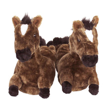 Brown Horse Slippers
