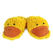 Fuzzy Duck Slippers