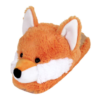 Fuzzy Fox Slippers