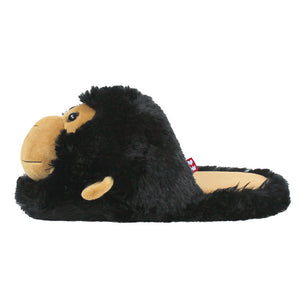Fuzzy Monkey Slippers