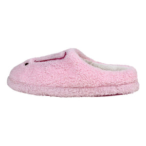 Fuzzy Pink Bunny Slippers