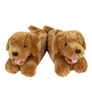 Golden Retriever Slippers