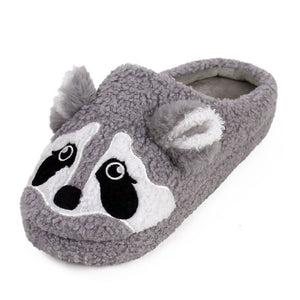 Raccoon Slippers