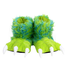 Green Monster Claw Slippers
