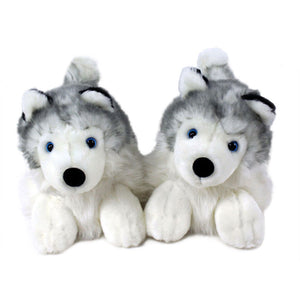 Husky Dog Slippers