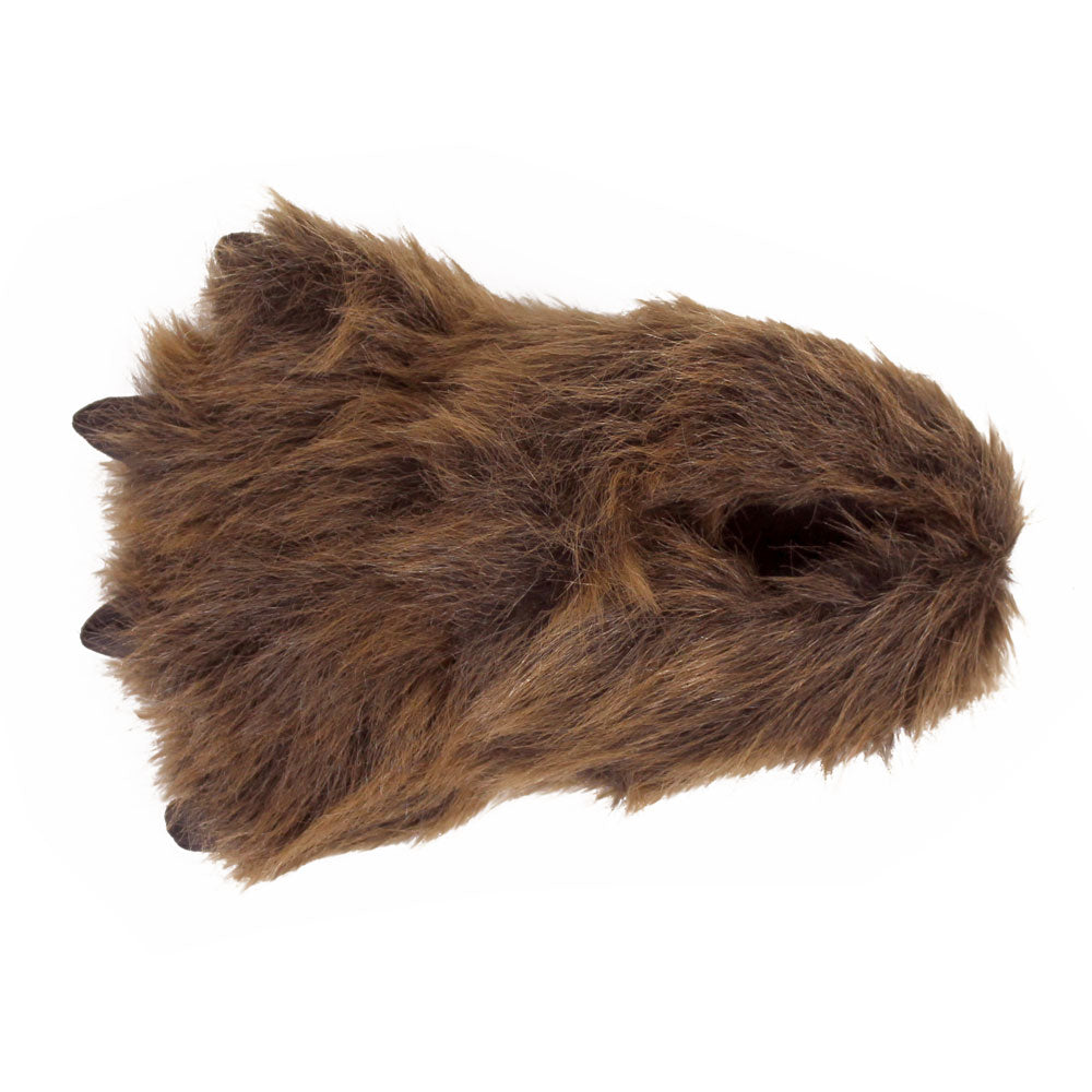 8dbc92d8398 Kids Grizzly Bear Paw Slippers – NoveltySlippers.com