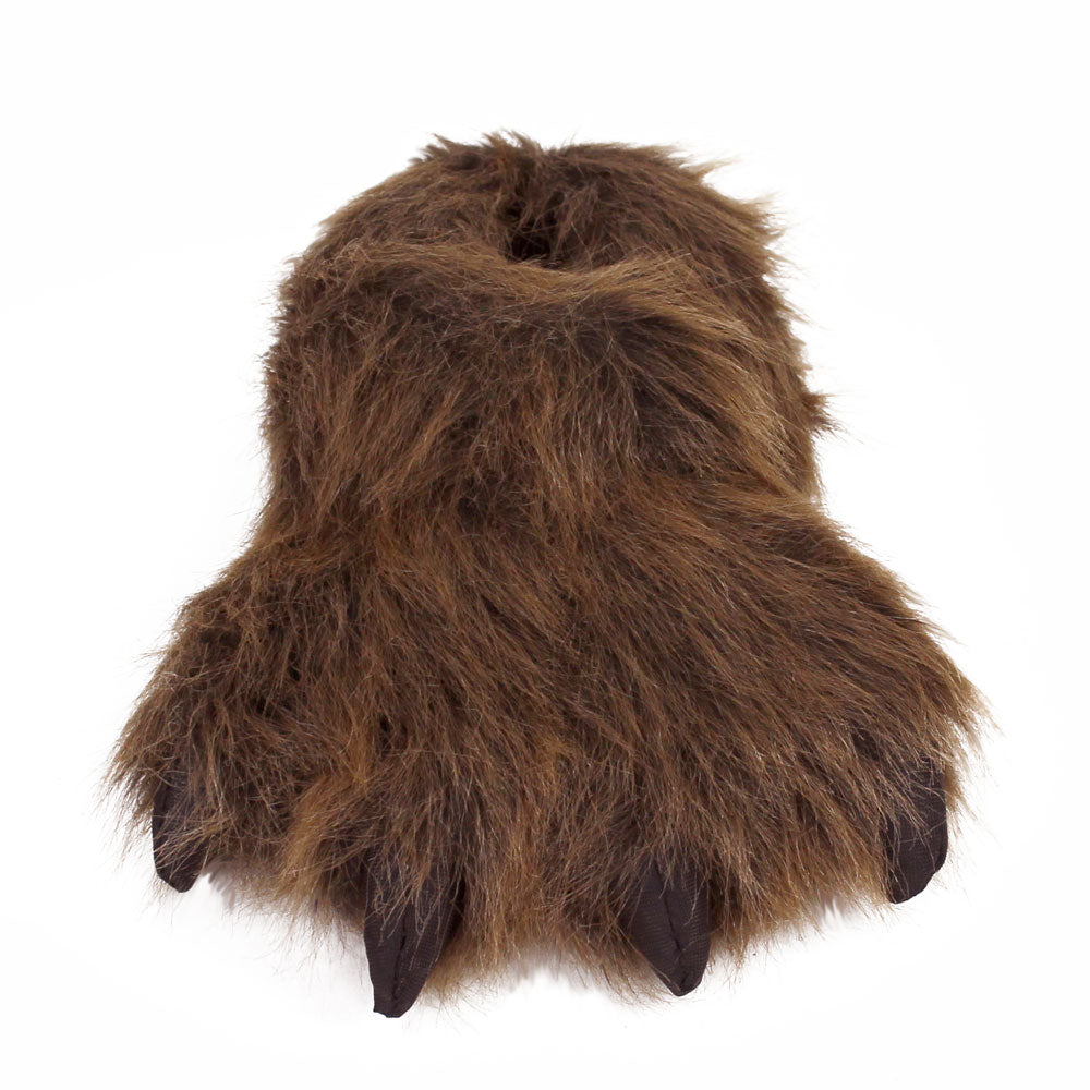 6821bd143963 Kids Grizzly Bear Paw Slippers – NoveltySlippers.com
