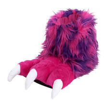 Pink Monster Claw Slippers