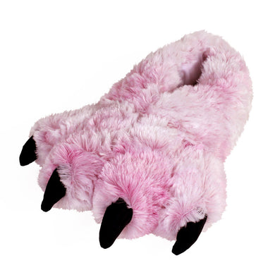 Pink Tiger Paw Slippers