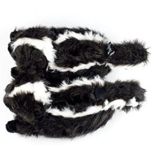 Skunk Slippers