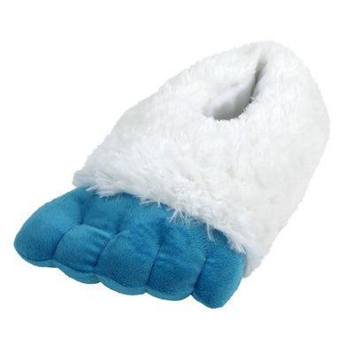 Yeti Abominable Snowman Feet Slippers