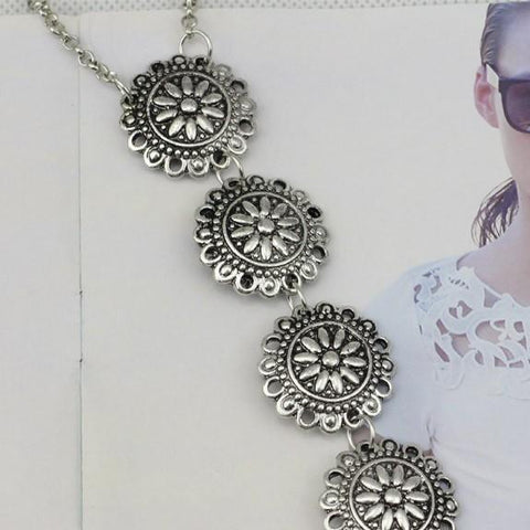 Boho Coin Body Necklace