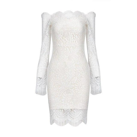 Heavenly Lace Bodycon Dress