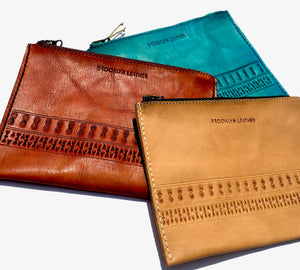 Our quality collection of boho leather custom zipper bags are our latest fashion designs for the chic gypsy world traveler in your life.
