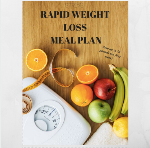 STRIVVE RAPID WEIGHT LOSS MEAL PLAN