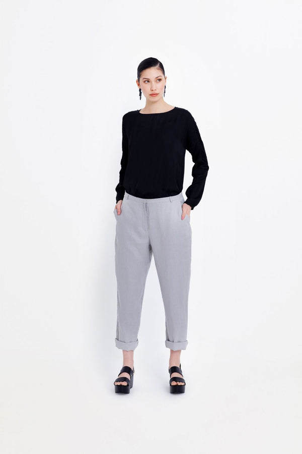 Flyte Linen Pants in Silt