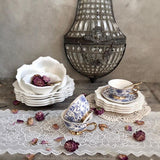 French Beaded Plate Sets